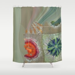 Baculum Concord Flower  ID:16165-040029-30001 Shower Curtain