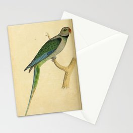 Blue winged Parrakeet Malabar Parakeet10 Stationery Cards
