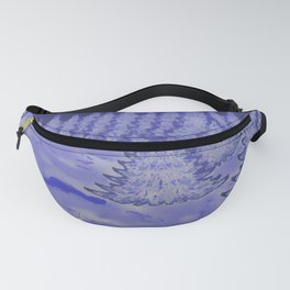 Winter's night in forest ... Fanny Pack