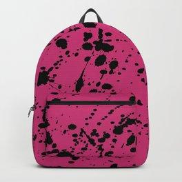 Splat Black On Yarrow Boarder Backpack