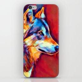 Wolf Portrait 2 iPhone Skin