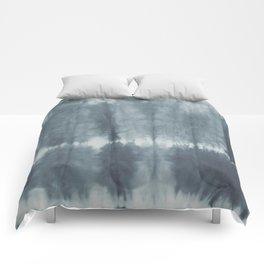 Tye Dye Gray Comforters