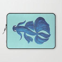 Blue Betta Fish Laptop Sleeve