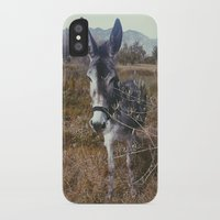 """donkey iPhone & iPod Cases featuring """"Retro Donkey"""" by Guido Montañés"""