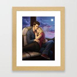 The Zeppelin Ride Home Framed Art Print