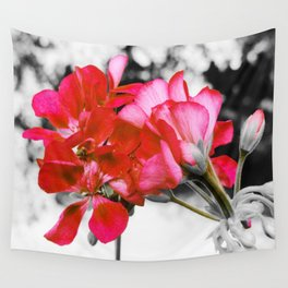 Flowers : Pop of Color Wall Tapestry