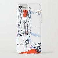 dramatical murder iPhone & iPod Cases featuring Murder by Mary Naylor