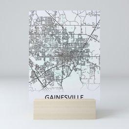 Gainesville, FL, USA, City Map Mini Art Print