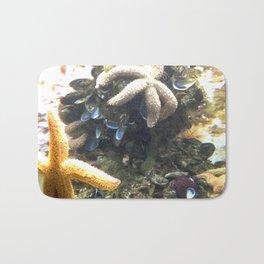 STARS IN THE OCEAN Bath Mat