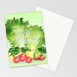 Vegetarian Stationery Cards