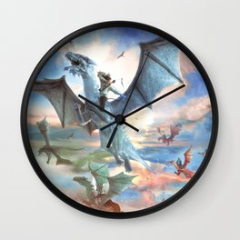 Fugitive´s Flight Wall Clock