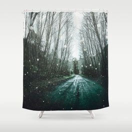 Find Yourself Shower Curtain