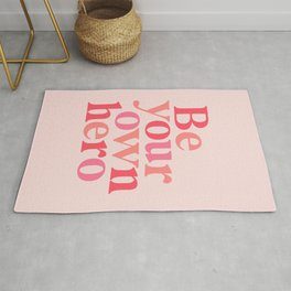 Be Your Own Hero Rug
