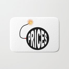 Prices Bomb And Lit Fuse Bath Mat