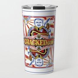 The Cracked Wild Card Travel Mug