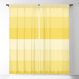Four Shades of Yellow Blackout Curtain