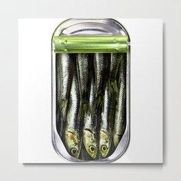 mackerel 1 Metal Print