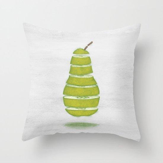 A Pear Apart Throw Pillow