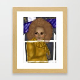 "2 Become 1 ""Scary Spice"" Framed Art Print"