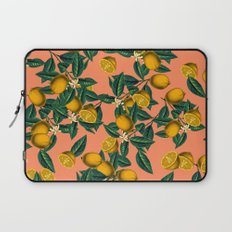Lemon and Leaf Laptop Sleeve