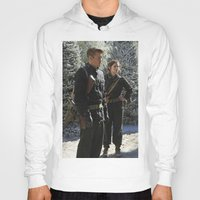 peggy carter Hoodies featuring Jack Thompson & Peggy Carter. by agentcarter23