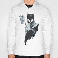 gotham Hoodies featuring Gotham Masquerade by Cristina Stefan