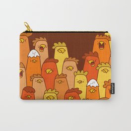 Pile of Clucks Carry-All Pouch