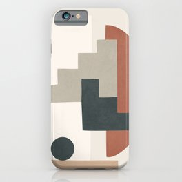 Minimal Shapes No.30 iPhone Case