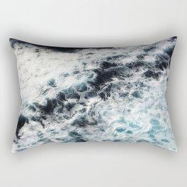 Ocean Painting Rectangular Pillow