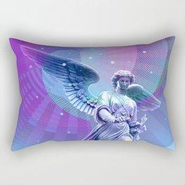 Angel Moon Rectangular Pillow