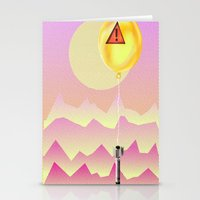 bombs away Stationery Cards featuring Bombs Away by charles lee
