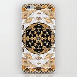 Not Your Grandma's Quilt: #Soverignty2020 #innerstanding Sri Yantra Sacred Geometry Dope Boho Quilt! iPhone Skin