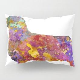 Pembroke Welsh Corgi 01 in watercolor Pillow Sham