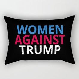 Anti-Trump - Women Against Trump Rectangular Pillow