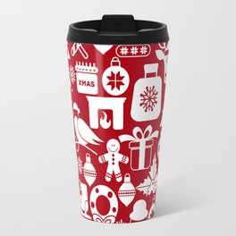 Christmas Pattern XIV Travel Mug