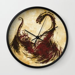 The Great Sea Wyrm Wall Clock