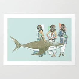 In Oceanic Fashion Art Print