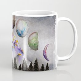 Moon Phases 2 Coffee Mug