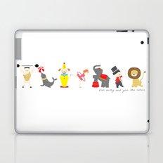 Run Away and Join The Circus Laptop & iPad Skin
