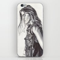cassandra jean iPhone & iPod Skins featuring Jean  by Alcnwndrlnd
