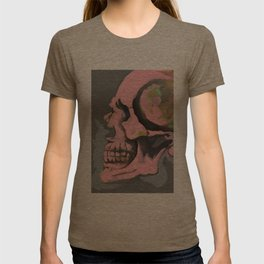Study of Pink Skull T-shirt