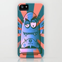 Fault 45 02 (its not his fault) iPhone Case