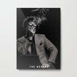The Weekndd Metal Print