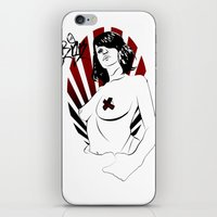 girl power iPhone & iPod Skins featuring Girl Power by Sirenphotos