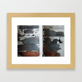 train wreck Framed Art Print