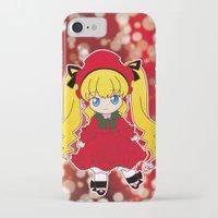 chibi iPhone & iPod Cases featuring Chibi Shinku by Yue Graphic Design