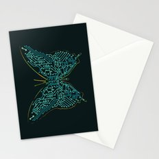 Mechanical Butterfly Stationery Cards