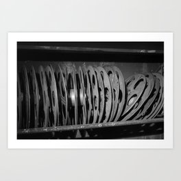 Movie Reels Art Print
