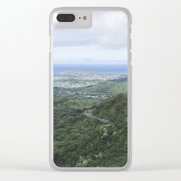 The Pali (1) Clear iPhone Case