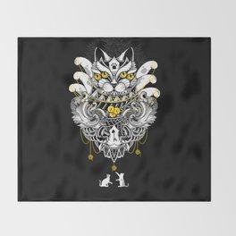 Sacred Ritual Throw Blanket